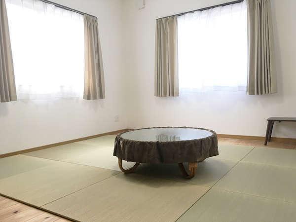 和室はお布団をご用意いたします。