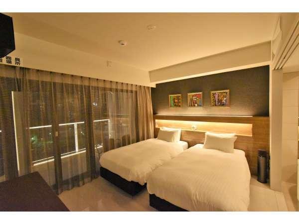 皇室ご用達の日本ベッドで極上の眠りをお届け★(シングルベッド2台)