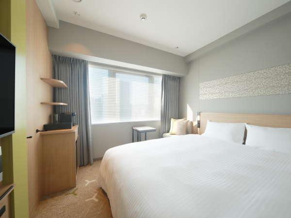 モデレートキングダブル(18㎡)コンパクトに、機能性と快適性を追求したお部屋!