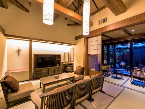 【客室】当館は全室畳敷きでございます。