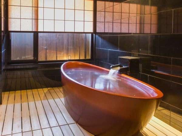 【貸切風呂 ~漆の湯~】5種類の趣きが異なる貸切風呂 無料