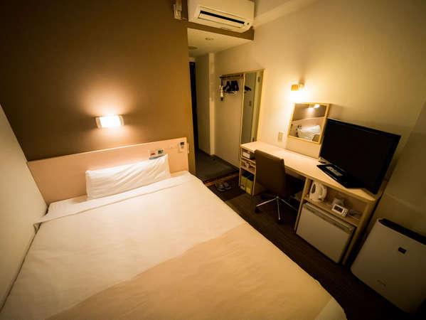 150センチのワイドベット、シングルルーム♪定員2名まで☆全室WiFi完備