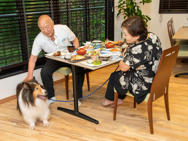 *【お食事処】ワンちゃん・ネコちゃんには安全・安心な手作りのお食事をご用意いたします。