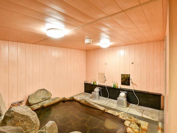 *【松島温泉(2階浴場)】泉質は身体の芯から温まるナトリウム塩化物泉です。