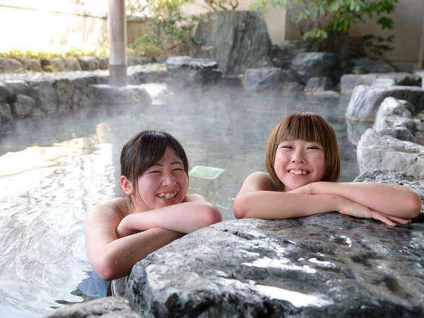 【露天風呂】四季を感じながら、自然に身をゆだねてみませんか