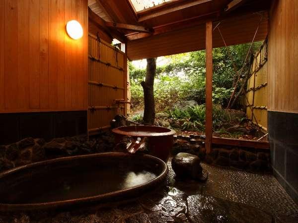 【ホテルサンバレー和楽】【源泉温泉かけ流し】5種の貸切風呂は予約不要で入り放題♪