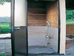 ワンちゃん専用・温水シャワールーム