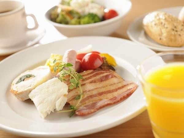 朝食盛り付け例♪