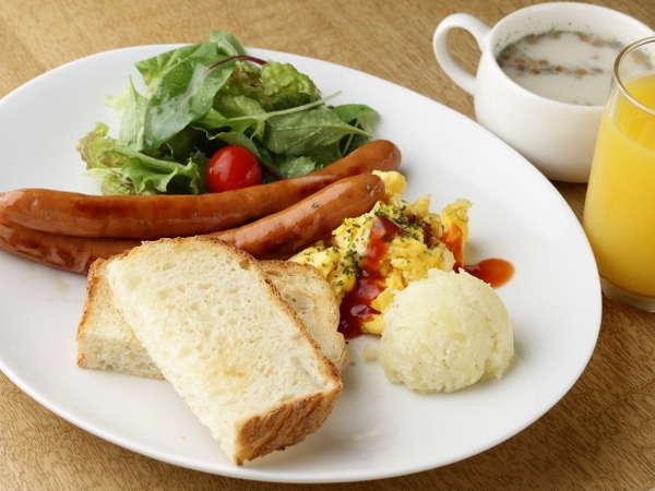 ※★朝食★洋食、和食、雑炊の3種類(※通常各650円)。※洋・和食は3パターンの日替わりです【定休日有】