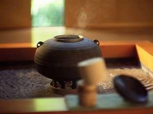 旅館では日本茶と決めるのでなく、その時の気分でハーブティー等もお好みのカップでお楽しみ下さい