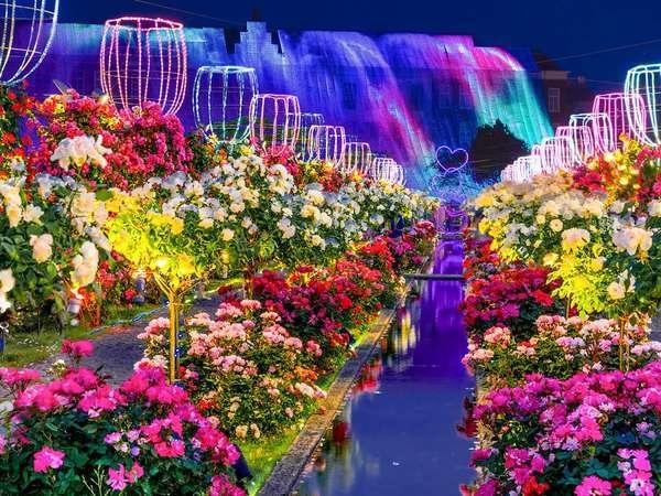 光と花の王国「ハウステンボス」(当館より車で65分)