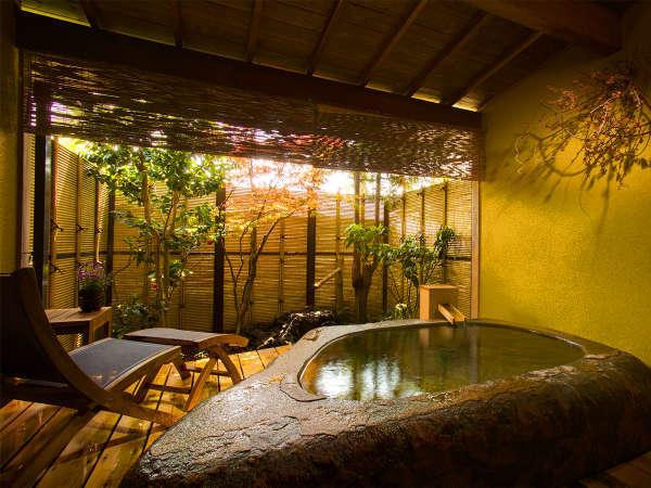 【松籟(しょうらい)】巨石露天風呂付き客室