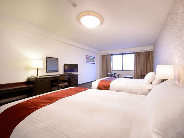 【グランデツイン36㎡/TypeA】客室は10階でご案内します。