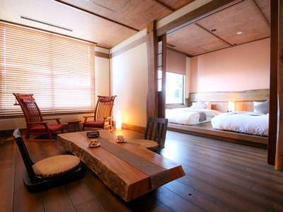 露天風呂付き客室(蔵心)