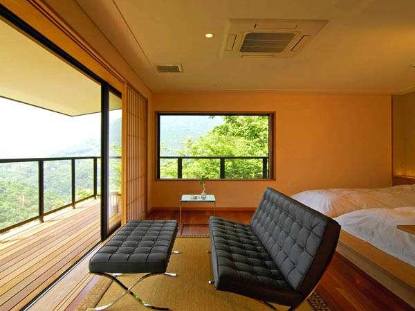 【箱根 時の雫】箱根の自然に癒される・・・夕朝食を露天付客室で