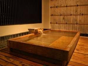 古代檜の露天風呂にて、「銀泉」をお楽しみいただけるようになりました♪(2017年3月~)
