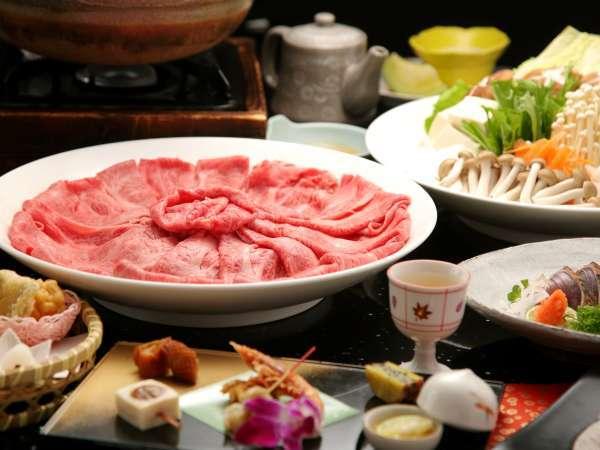 極上の牛肉をお楽しみ頂ける神戸牛しゃぶしゃぶ鍋