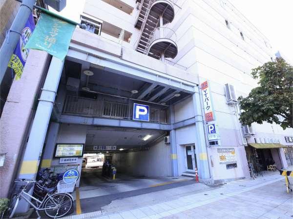 提携駐車場1.YTパーク24(地下:2m、1F2.6mまで)先着50台。郵便ポストが目印です。