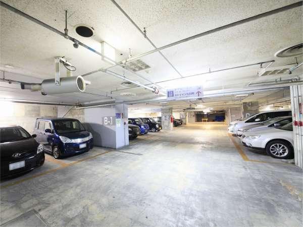 提携駐車場1「YTパーク24」内地下駐車場。高さ制限2m。予約制ではなく先着順でのご案内となります。