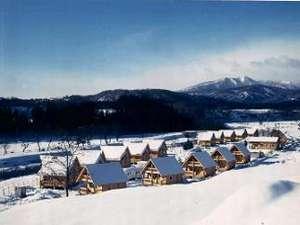 サンタハウス全景冬