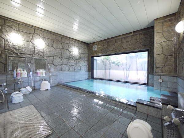 活性石大浴場15:00~2:00、5:00~10:00までご利用いただけます。