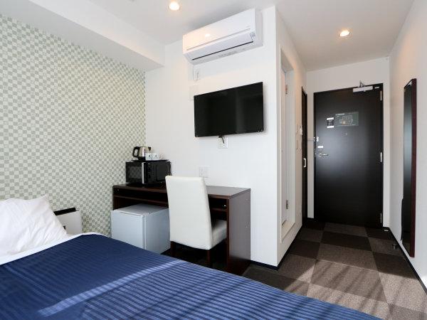 シングルルーム※2名様の場合は添い寝でのご利用になります。シモンズ製ベッド