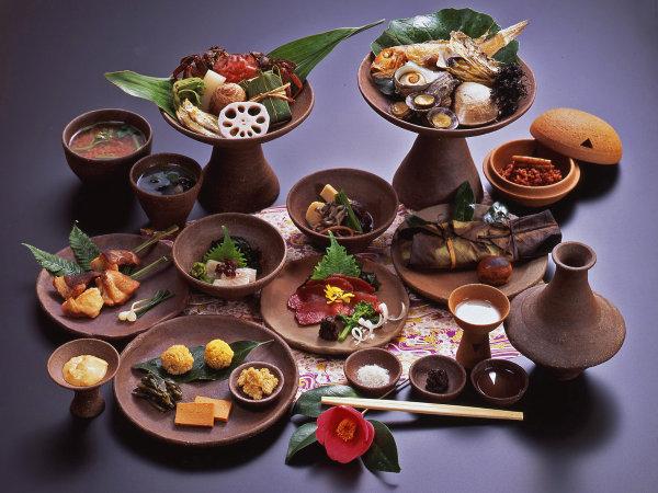 【夕食】美容と健康に最適なヘルシーメニュー!古代料理コース『弥生の宴』!