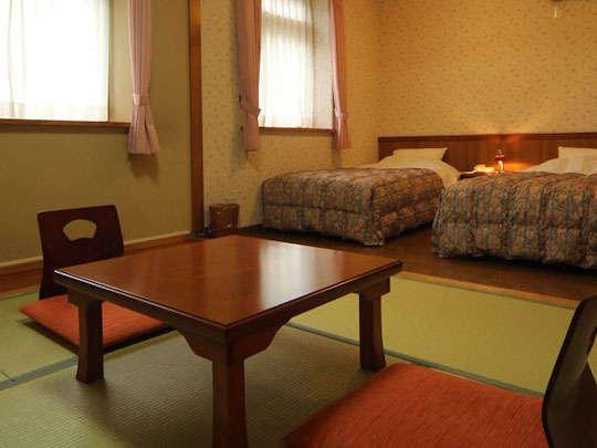 もっともくつろげる和洋室です。
