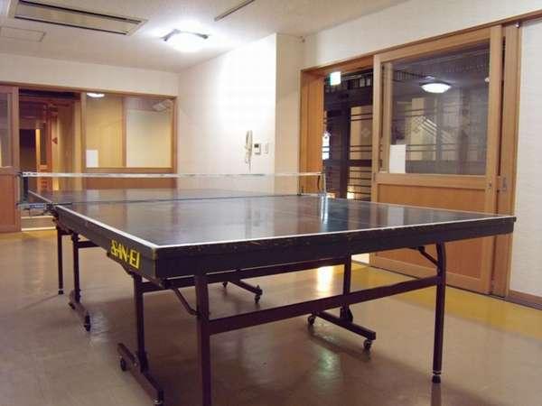 ゲームコーナーに変わり、卓球コーナーがオープンしました