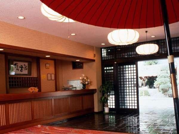 ◆信玄館 玄関
