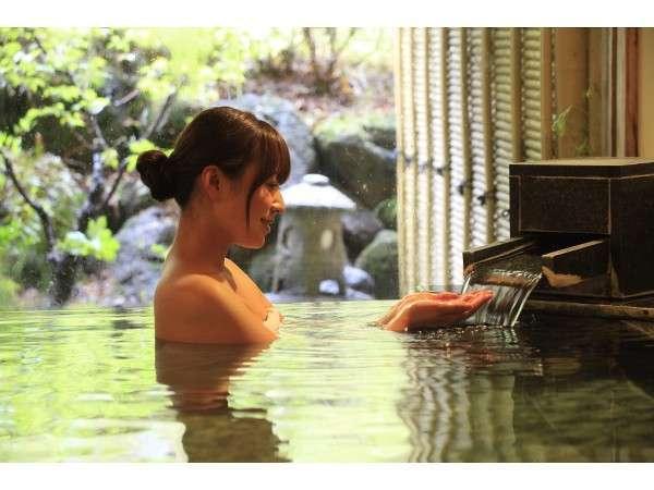 PH10超えの美人湯で癒されて。貸切風呂「丹青の湯」