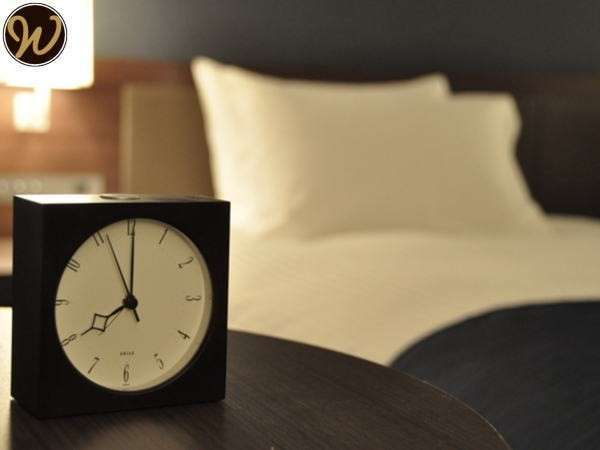 寝心地の良いシモンズ社製のベッドでごゆっくりとお過ごしくださいませ。