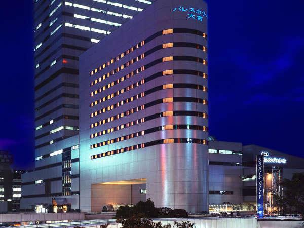 JR・新幹線でのご利用にも便利な当ホテルは、ビジネスや観光の拠点として最適です。※夜のイメージ