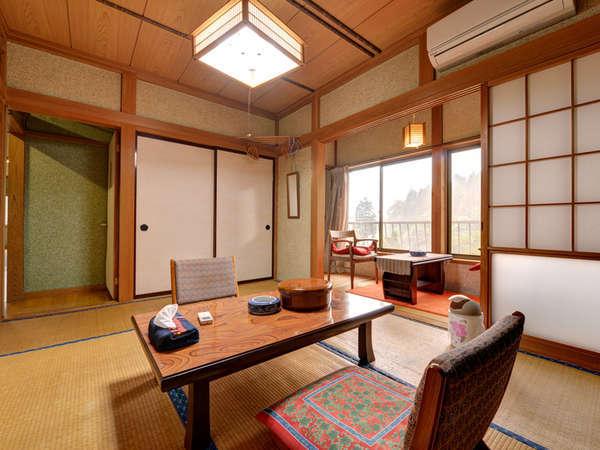 *和室6畳(客室一例)/一人旅やカップルにオススメ!ほのかに薫る畳の香りに寛ぎのひと時を。