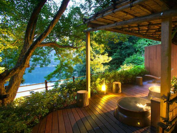 ■露天壷風呂■日本百景を眺めながら湯の贅をお楽しみ頂けます