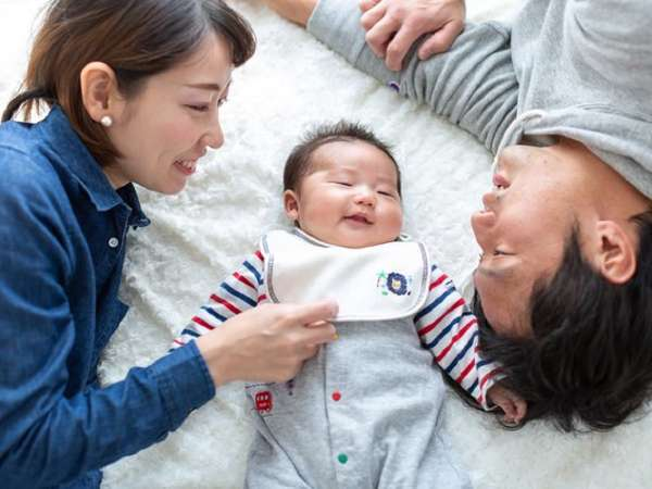 赤ちゃんがいる場合には、お布団をご自由にお使いください