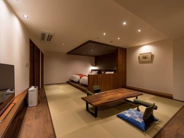 3F「胡桃」客室:コーヒーメーカー、空気清浄機、マッサージチェア完備