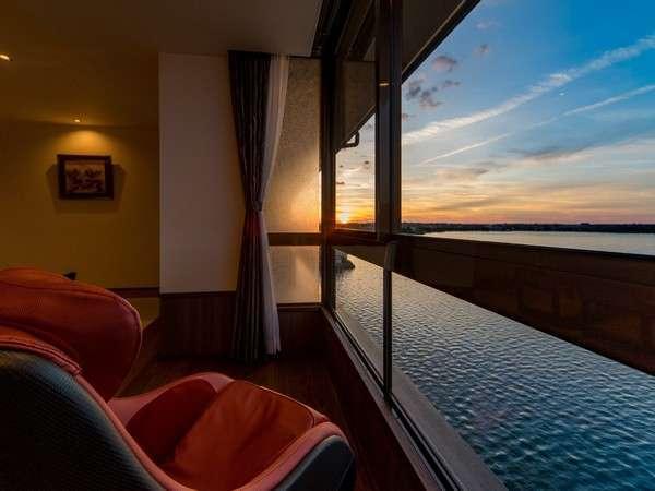 【湖上に浮かぶ絶景の宿 千年亭】7月22日まで休館とさせていただきます