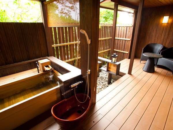 ペット専用露天風呂付客室「ことね」●愛犬と一緒に温泉♪庭園付きテラスでゆったり