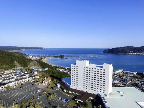 本州最南端の地【串本】と名勝【橋杭岩】を高台から望む自然豊かなロケーションで美味なお食事と温泉を♪♪