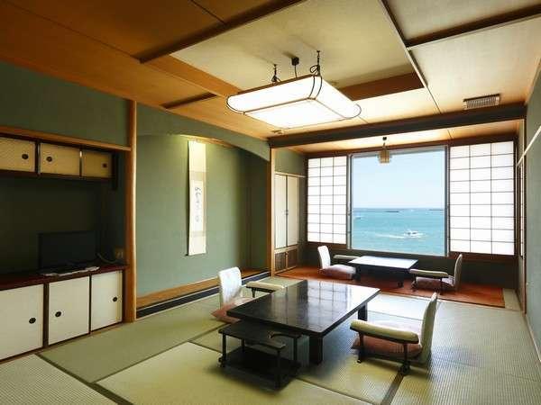 和風館タイプの客室(10畳・全室海側)