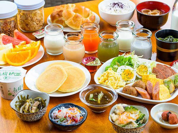 朝食一例(和洋)お好みで和食スタイル、洋食スタイルで。
