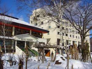 ◆【冬】ホテルサンバード外観◆