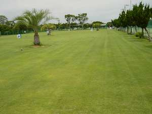 東海荘専用天然芝グラウンドゴルフコース