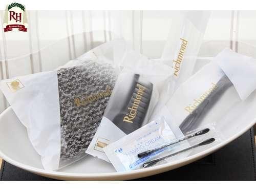 【アメニティー】歯ブラシ・ヘアブラシ・髭剃り・綿棒・ボディタオル