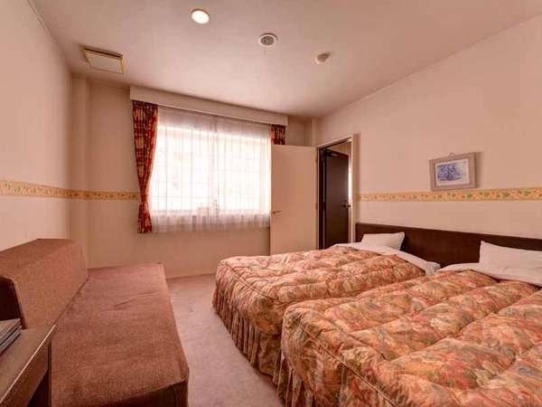 *◇本館◇洋室ファミリールーム/二世帯旅行やグループ旅行に便利な洋室ベッドタイプのお部屋。