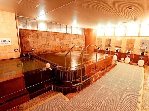 男女入れ替え制大浴場