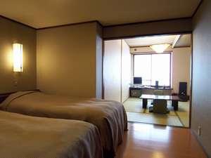 <和室>和室6畳+ツインベット