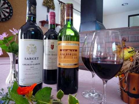 豊富な品揃えのワイン