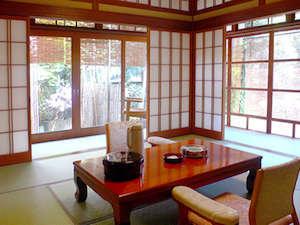 庭園露天風呂付客室 離れ「竹ノ宿」